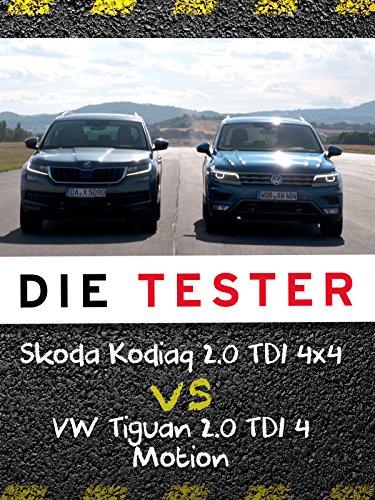 mächtig Tester: Skoda Kodiaq 2.0 TDI 4 × 4 gegen VW Tiguan 2.0 TDI 4 Motion