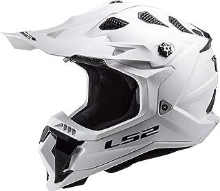 LS2 MX700 Subverter Evo Motocross Helm Weiß L 59/60