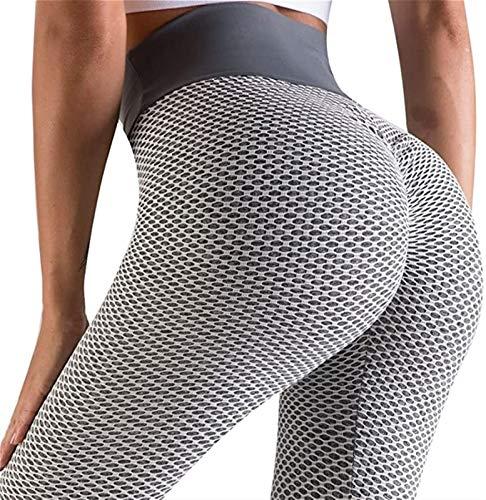 XiuLi Pantalones de Yoga Deportivos para Mujer (Color : Gray, Size : S)
