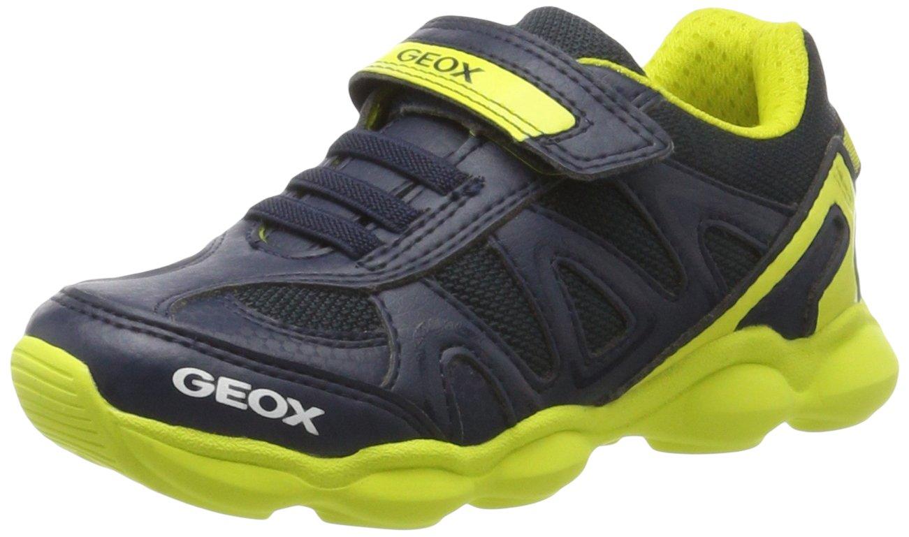 Casa combinación Delegación  Amazon.com | Geox J MUNFREY BOY A Trainers, Blue (Navy/Silver C0673), 8.5  UK Child | Sneakers
