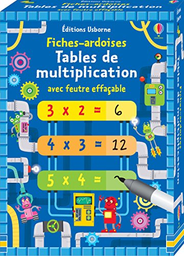 Fiches-ardoises - Tables de multiplication