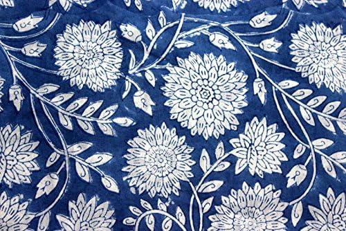 India Hand Block Printed Fabric Max Ranking TOP12 77% OFF Cotton Ya Jaipuri Dress 5