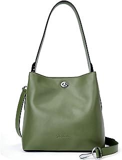 BOSTANTEN Leder-Handtaschen, Designer-Schultertasche, Umhängetasche, Geldbörse für Damen