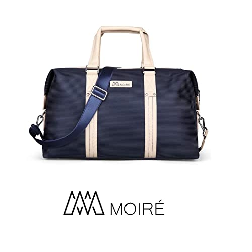 068d19111 Moiré Forlenza Weekend Genuine Leather Luxury Mens Travel Duffel Bag Fits  17