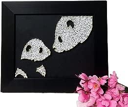 E&M String Art Panda Family Handmade DIY Decoration Family Decoration Painting