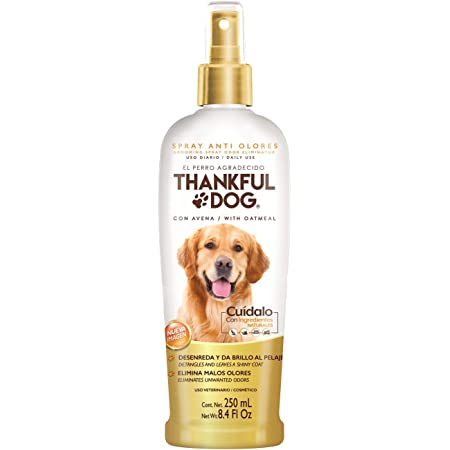 Thankful Dog Spray Antiolores Thankful Dog 250ml, color, 250 ml, pack of/paquete de