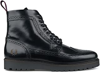 Fred Perry Men's Boots Black Size: 11