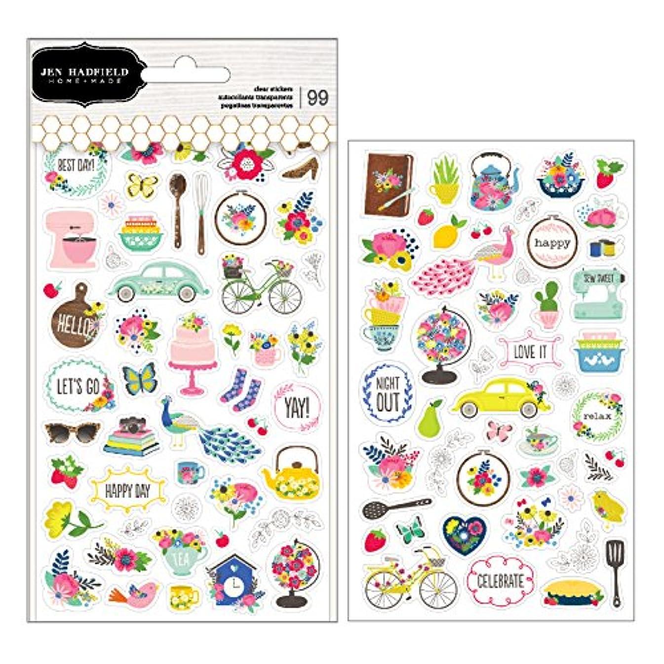 Jen Hadfield 733889 Stickers Multi