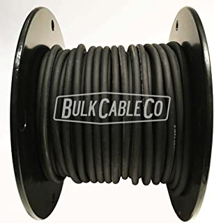 Lava Mini ELC Solder-Less Pedalboard Cable - Black - Bulk Pedal Board FX Patch Cable - Sold in 10 FT Lengths