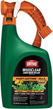 Ortho WeedClear Lawn Weed Killer: For Northern Lawns