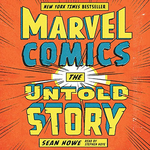 Marvel Comics audiobook cover art