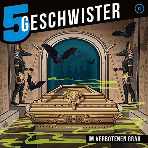 Im verbotenen Grab audiobook cover art