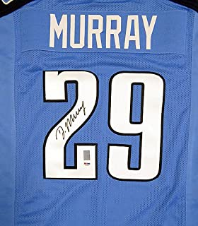 Tennessee Titans DeMarco Murray Signed Blue Jersey - PSA/DNA Certified