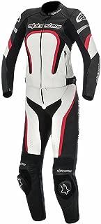 Alpinestars Motegi Women's 2-Piece Street Motorcycle Race Suits - Black/White/Red / 42
