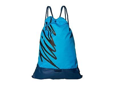 Nike Brasilia Gym Sack Graphics (Laser Blue/Valerian Blue/Blck) Backpack Bags
