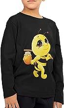 Aiguan Honey Bee Children's Long Sleeve Tshirt