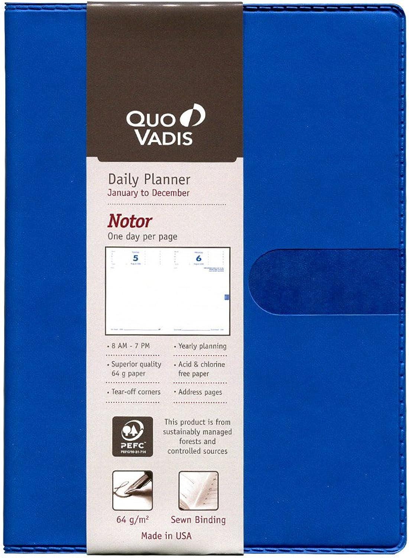 Quo Vadis 2019 Notor Yearly Planner, Texas Cover, 4.75 by 6.75 inches, Blau B07DQWVFSY | Kaufen Sie beruhigt und glücklich spielen