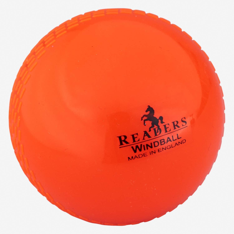 Readers Windball Cricket 5 popular Ball Senior Orange Junior - Shipping included
