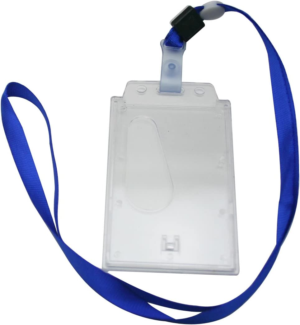 Generic Vertical Card Holder Neck Deep Strap Special National products price Blue Lanyard