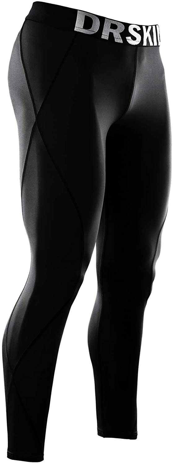 DRSKIN Men's Compression Pants Sports Tights Leggings Baselayer Running Workout Active Cool Dry Yoga Gym Rashguard : Clothing, Shoes & Jewelry