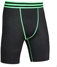 Vertvie Herren Dual Kompressionsshorts Funktionswäsche Base Layer Boxershorts Fitness Hose Slim Fit kurz