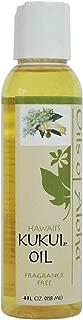 Oils of Aloha Hawaii Kukui Oil No Fragrance 4 Fluid Ounce