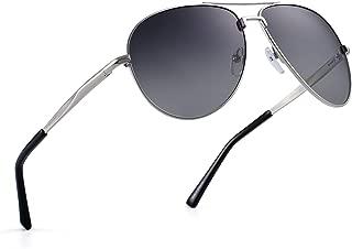 Polarized Aviator Sunglasses Retro Metal Driving Pilot Glasses Men Women