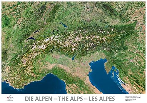 Satellitenbildkarte