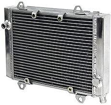 CoolingCare ATV Aluminum Radiator for Kawasaki Brute Force 650 2005-10, Prairie 700 2004-06