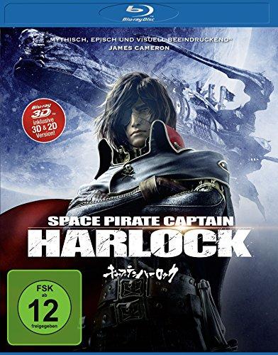 Space Pirate Captain Harlock (inkl. 2D-Version) [3D Blu-ray]