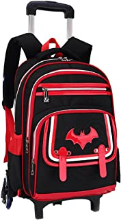 Adanina Elementary School Student Rolling Backpack Students Trolley Bookbag  Rucksack With Wheels Carry-on Bags e2e9dfdc81dd7