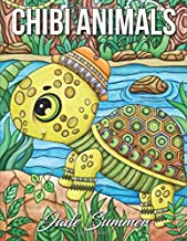 Chibi Animals: An Adult Coloring Book with Adorable Cartoon Animals, Cute Nature Scenes, and Relaxing Patterns for Animal Lovers