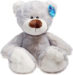 WILDEREM Teddy Bear Stuffed Animal, Grey