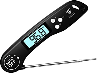 DOQAUS Digital Meat Thermometer, 3s Instant Read Food Thermometer for Cooking, Digital Kitchen Thermometer Probe with Back...