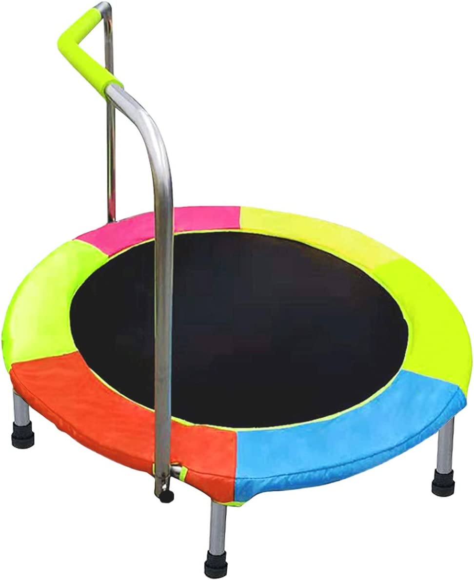 DRM Outdoor Indoor Portable Junior Trampoline Fort Worth Mall Kids Tramp Folding Max 48% OFF