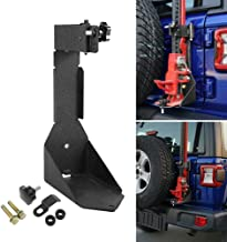 AUXMART High Lift Jack Mount Rear Off-Road Jack Mounting Bracket for 2018-2019 Jeep Wrangler JL, Black