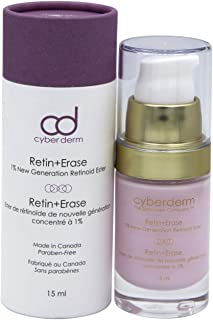 CyberDERM - Retin + Erase Nighttime Retinoic Treatment | 1% Active Retinoid Ester