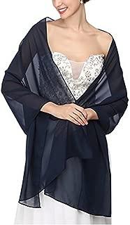Chiffon Bridal Wedding Shawl Wrap Prom Evening Dress Stole Scarves