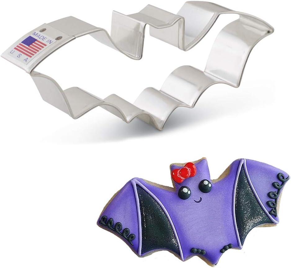 Ann Clark Cookie Cutters Halloween Bat Cookie Cutter, 5.25