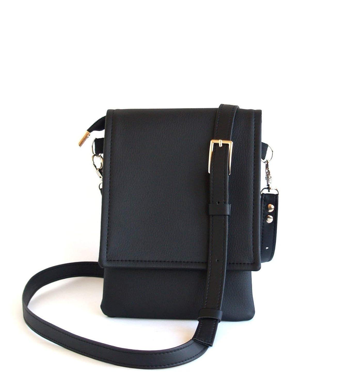 Black Small Max Max 66% OFF 63% OFF Crossbody Bag Cell Handmade Phon Phone