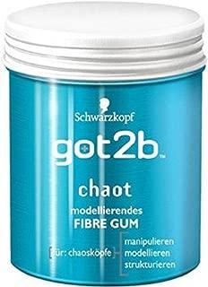 Pack of 2 got2b Chaot Fibre Gum Hair Styling past