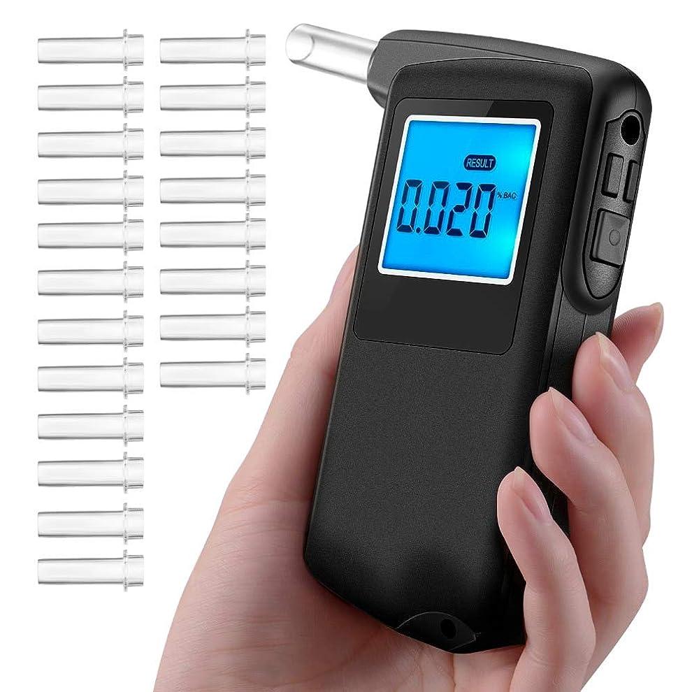 キャリッジ蒸発ハードウェア2018プロアルコールテスター飲酒テスト結果記録付きポータブル高精度デジタル息アナライザー