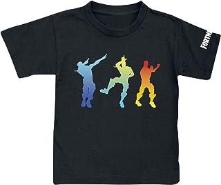 Camiseta Fortnite Dancing Black - Camiseta Fortnite Manga Corta