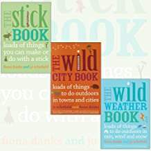 The Stick, Weather, City Things To Do Books Collection By Fiona Danks. (The Stick Book, The Wild Weather Book and The Wild City Book)