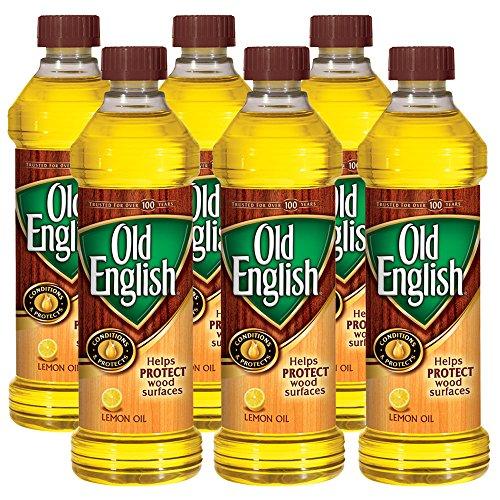 Old English 0-62338-07325-5 Lemon Oil Furniture Polish, 96 fl oz. (Pack of 6)