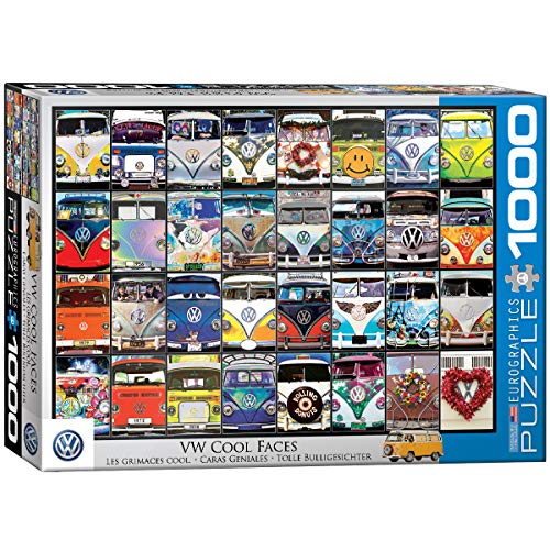 EuroGraphics VW COOL Faces, 1000 Teile Puzzle, Multi
