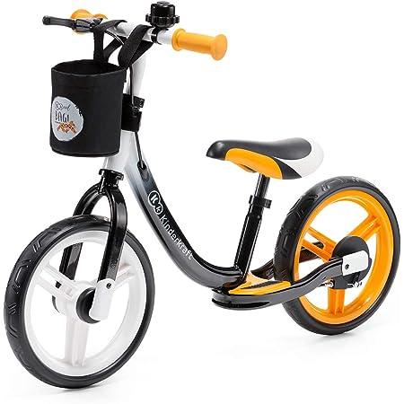 kk Kinderkraft Bicicleta sin Pedales SPACE, Sillín Ajustable, con Freno, Naranja