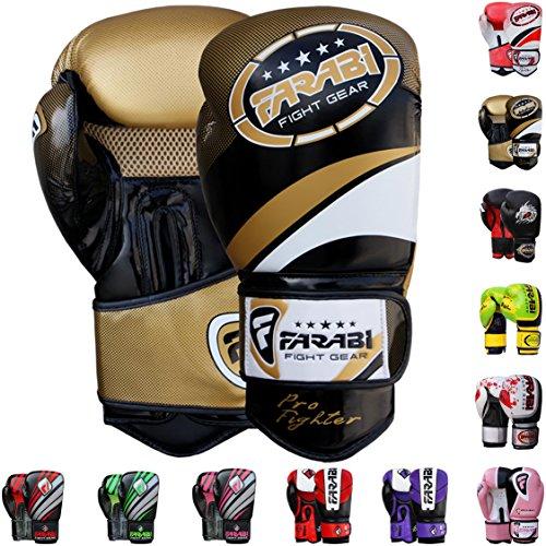 Farabi Boxing Gloves Boxing Gloves for Training Punching Spa