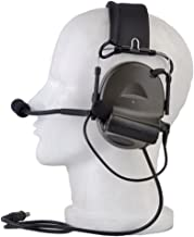 Z Tactical Headset Headphone COMTAC 2 Style Noise Reduction Headset for Airsoft Military Radio OD