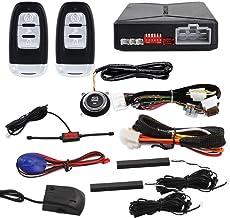 $109 » EASYGUARD EC010 PKE car Alarm with Push Engine Start, Remote Engine Start & Shock Alarm Warning Proximity Lock Unlock DC12V